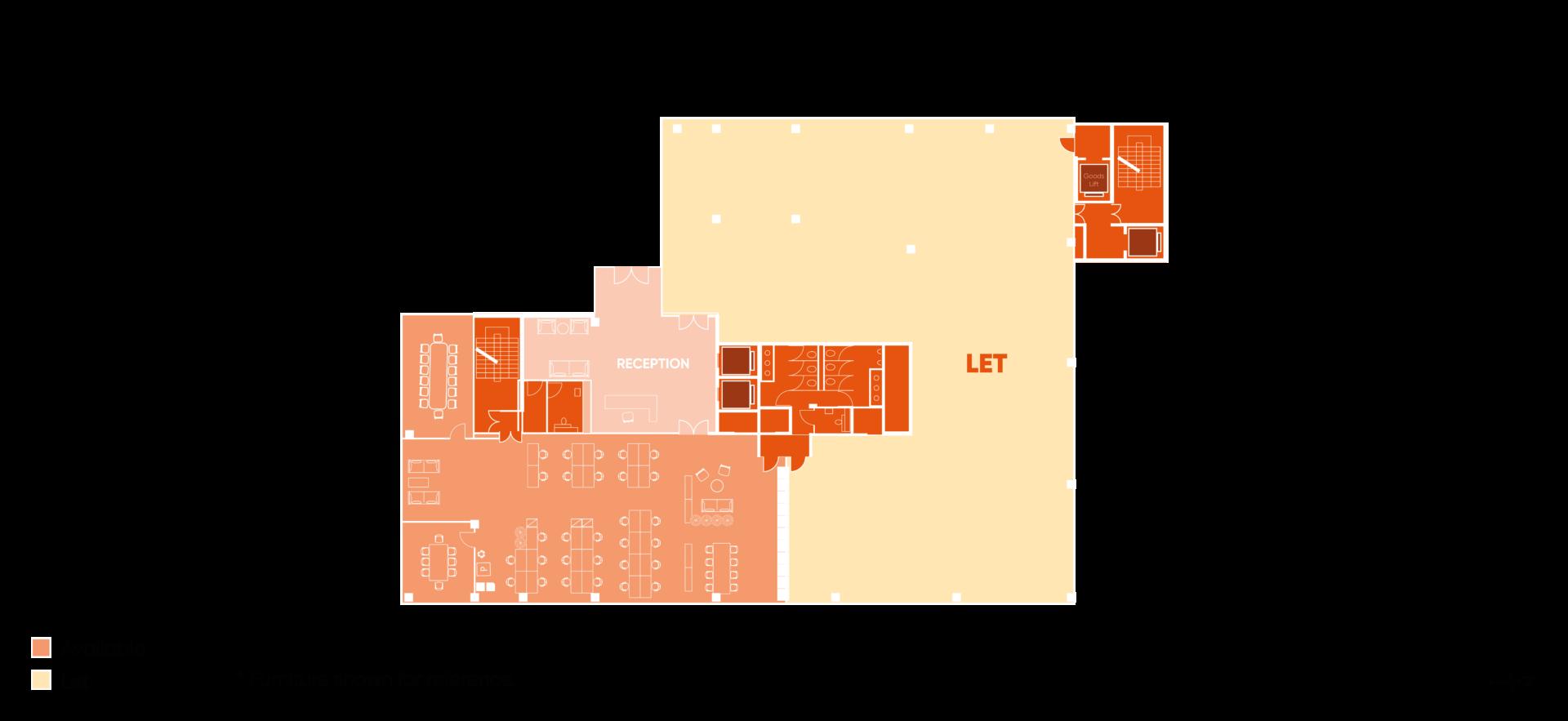 Floor plan of Building HX4 Ground Level